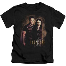 Farscape Wanted Short Sleeve Juvenile Black Md T-Shirt