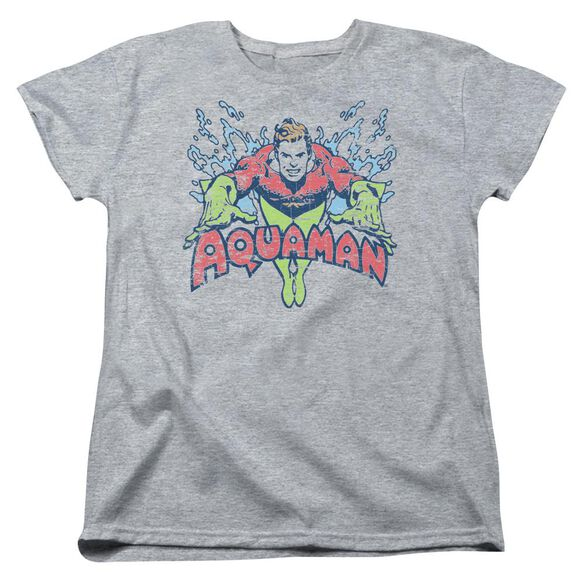 Dc Splish Splash Short Sleeve Womens Tee Athletic T-Shirt