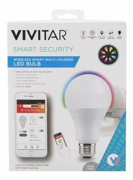 Vivitar Wi-Fi Smart Multi-Color LED Bulb