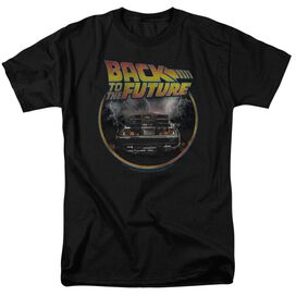 Back To The Future Back Short Sleeve Adult T-Shirt