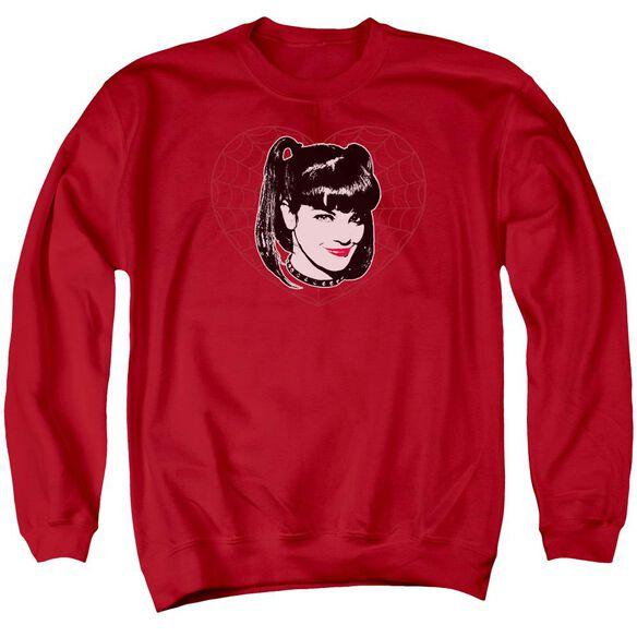 Ncis Abby Heart Adult Crewneck Sweatshirt