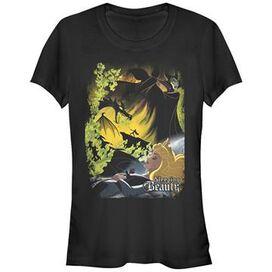 Sleeping Beauty Poster Art Juniors T-Shirt