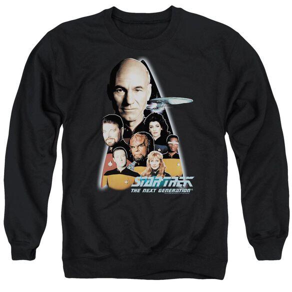 Star Trek The Next Generation Adult Crewneck Sweatshirt