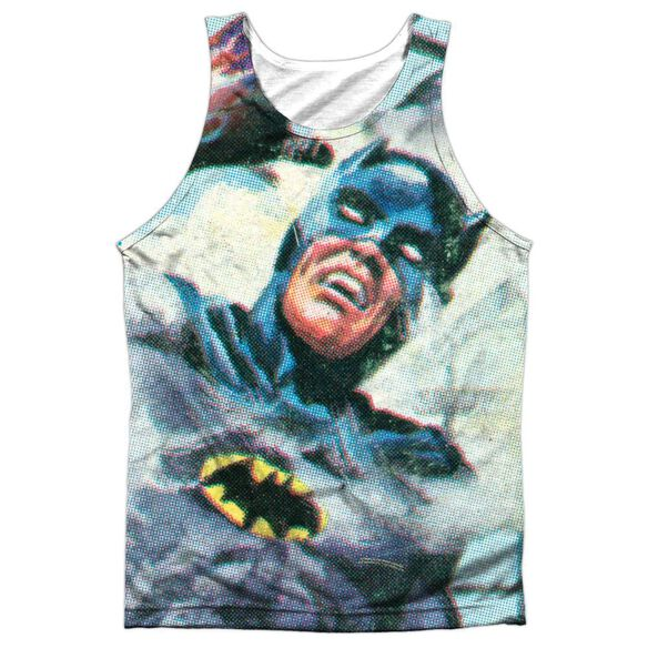 Batman Classic Tv Foliage Adult Poly Tank Top