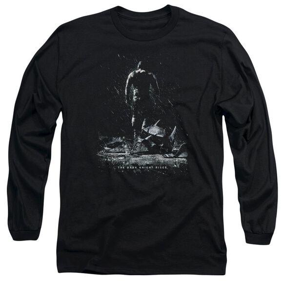 Dark Knight Rises Bane Poster Long Sleeve Adult T-Shirt
