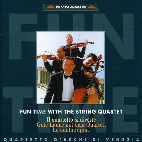 Fun Time With The String Quartet: Gershwin, Et Al