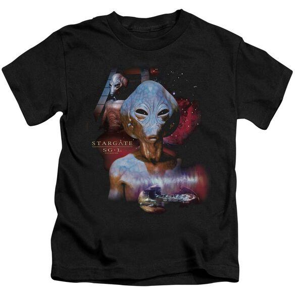 Sg1 The Asgard Short Sleeve Juvenile Black T-Shirt