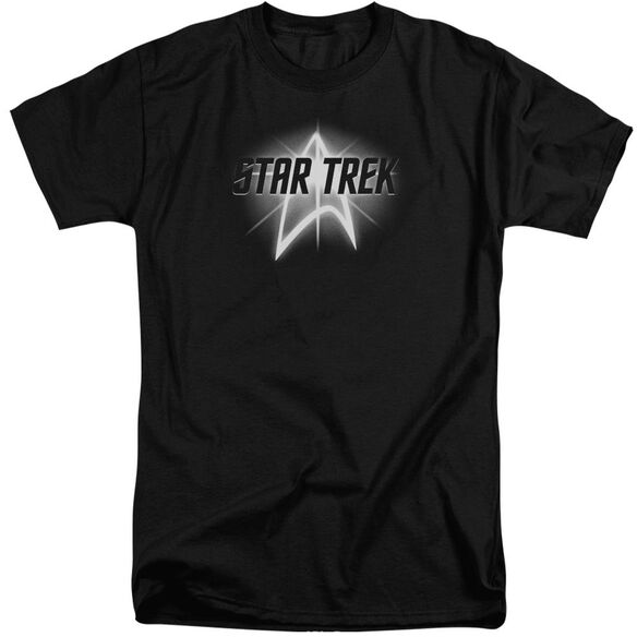 Star Trek Glow Logo Short Sleeve Adult Tall T-Shirt