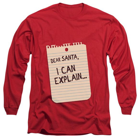 Note Long Sleeve Adult T-Shirt