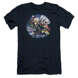 Garfield Moonlight Ride Short Sleeve Adult T-Shirt