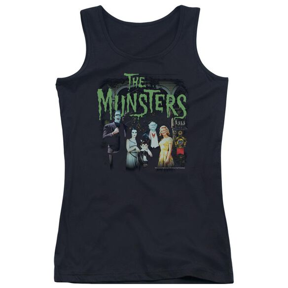 The Munsters 1313 50 Years Juniors Tank Top