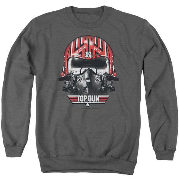 Top Gun Goose Helmet Adult Crewneck Sweatshirt