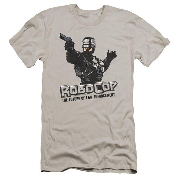 Robocop Future Of Law Premuim Canvas Adult Slim Fit
