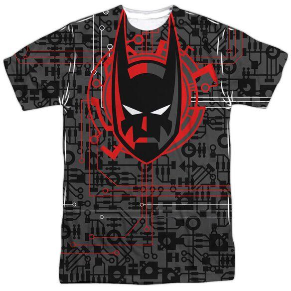 Batman Beyond Tech Cowl Short Sleeve Adult Poly Crew T-Shirt