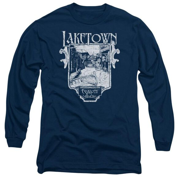 Hobbit Laketown Simple Long Sleeve Adult T-Shirt