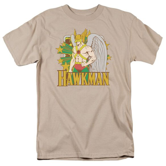 Dc Hawkman Stars Short Sleeve Adult T-Shirt