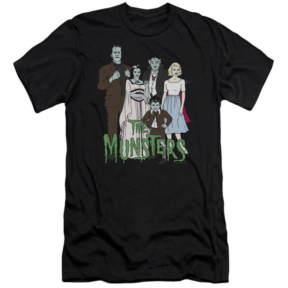 The Munsters The Family Premuim Canvas Adult Slim Fit