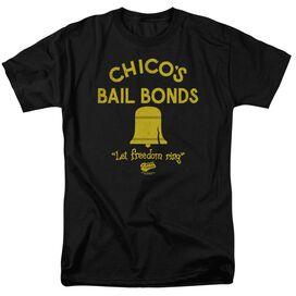 Bad News Bears Chico's Bail Bonds Short Sleeve Adult T-Shirt