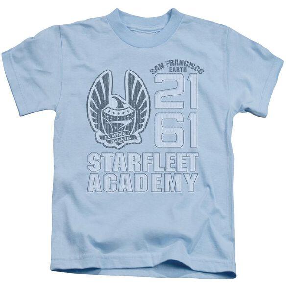 Star Trek 2161 Short Sleeve Juvenile Carolina Blue T-Shirt