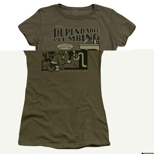 DICKS PLUMBING- JUNIOR T-Shirt