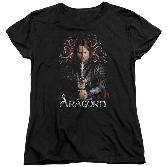 Lor Aragorn Short Sleeve Womens Tee T-Shirt