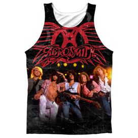 Aerosmith Stage Adult 100% Poly Tank Top