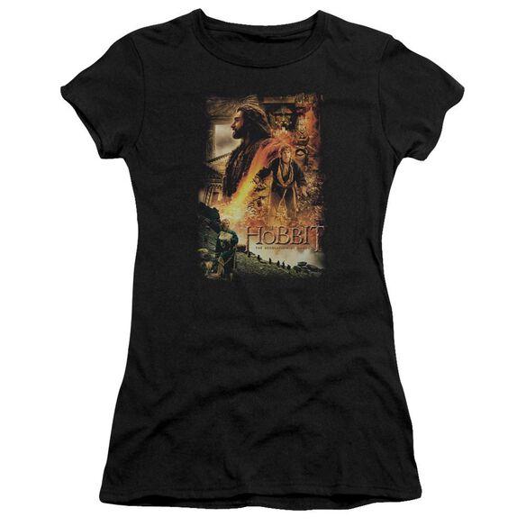 Hobbit Golden Chamber Short Sleeve Junior Sheer T-Shirt