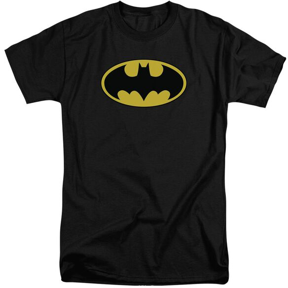 Batman Classic Logo Short Sleeve Adult Tall T-Shirt