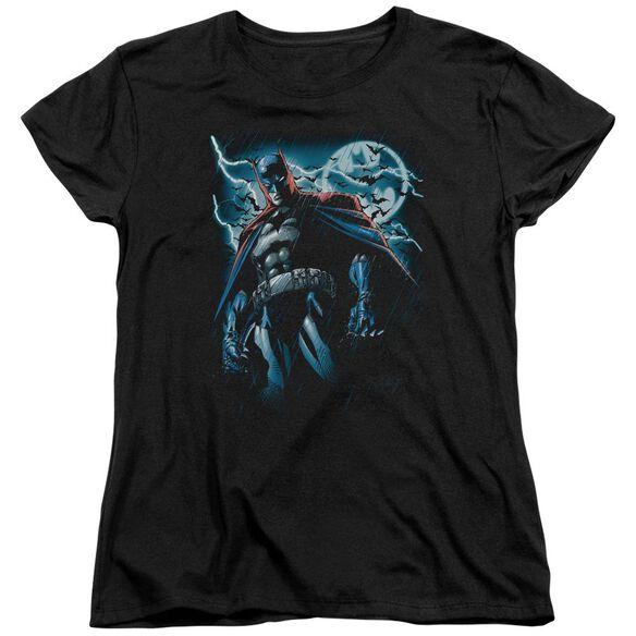 Batman Stormy Knight Short Sleeve Womens Tee T-Shirt