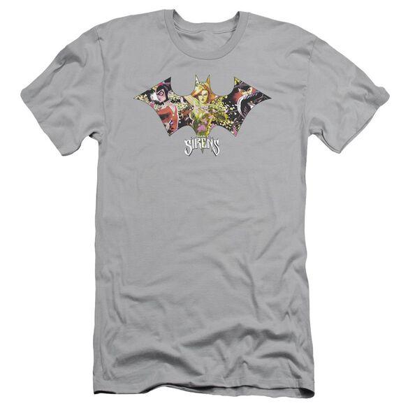 Batman Sirens Bat Short Sleeve Adult T-Shirt