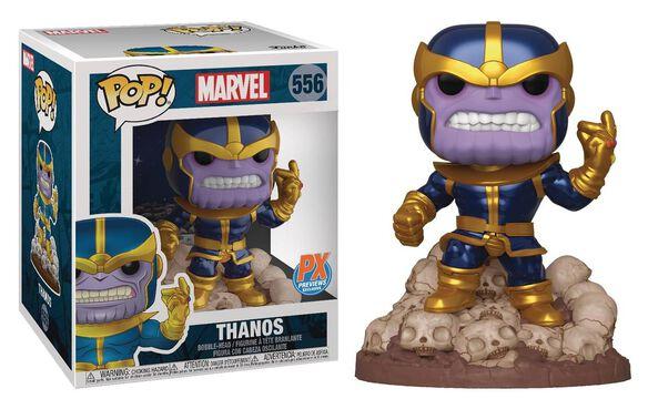 Funko Pop!: Thanos [PX Previews Exclusive Super-Sized 6-Inch Vinyl Bobble Head Comic Version]