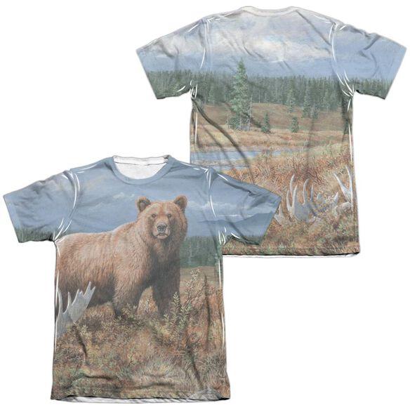 Wild Wings Autumn Splendor (Front Back Print) Adult Poly Cotton Short Sleeve Tee T-Shirt