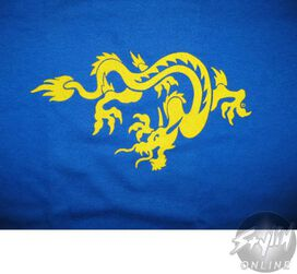 Dragon Yellow Youth T-Shirt
