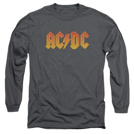 Acdc Logo Long Sleeve Adult T-Shirt