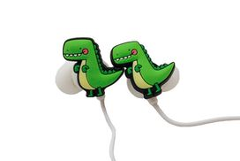 Dinosaur Earbuds with microphone