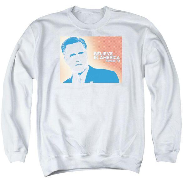 Believe In America Adult Crewneck Sweatshirt