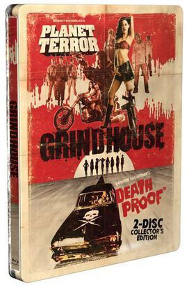 Grindhouse Double Feature [Collector's Edition Blu-ray Steelbook]