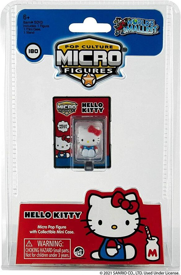 Worlds Smallest Hello Kitty Micro Pop Culture Figures