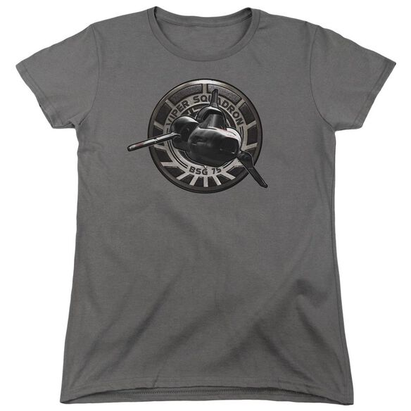 Bsg Viper Squadron Short Sleeve Women's Tee T-Shirt