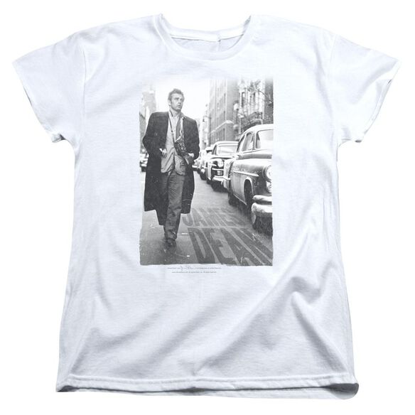 Dean On The Street Short Sleeve Womens Tee T-Shirt