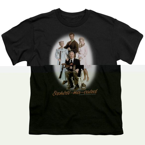 BEVERLY HILLBILLIE OPHISTIMACATED - S/S YOUTH 18/1 - BLACK T-Shirt