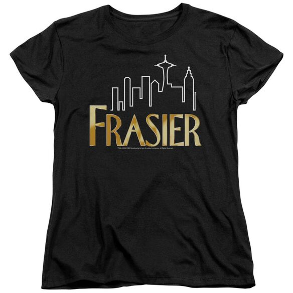 Frasier Frasier Logo Short Sleeve Womens Tee T-Shirt