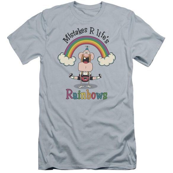 Uncle Grandpa Life's Rainbows Hbo Short Sleeve Adult Light T-Shirt