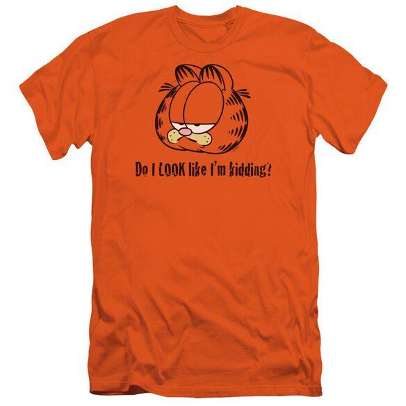 Garfield Do I Look Like Im Kidding Short Sleeve Adult T-Shirt