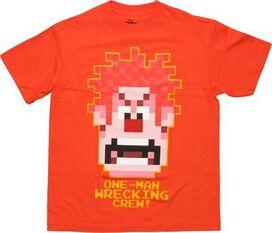 Wreck-It Ralph One Man Orange Youth T-Shirt
