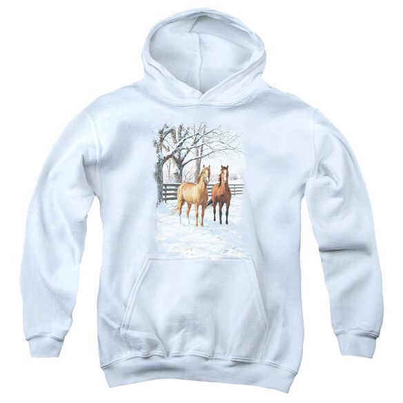 Wildlife Coffee And Chocolate Youth Pull Over Hoodie