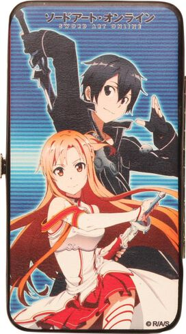 Sword Art Online Asuna Kirito Clutch Wallet