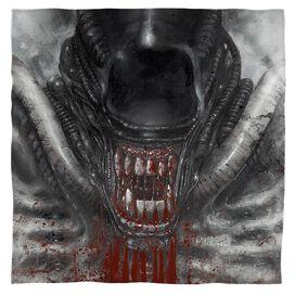 Alien Blood Drool Bandana White