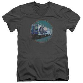 Chicago The Rail Short Sleeve Adult V Neck T-Shirt