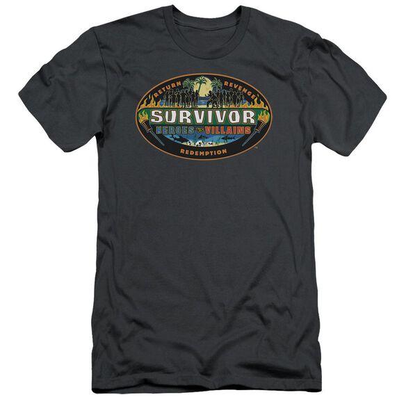 Survivor Heroes Vs Villains Short Sleeve Adult T-Shirt